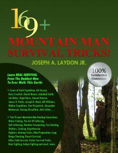 Mountain Man survival tricks print