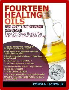 Fourteen Healing Oils